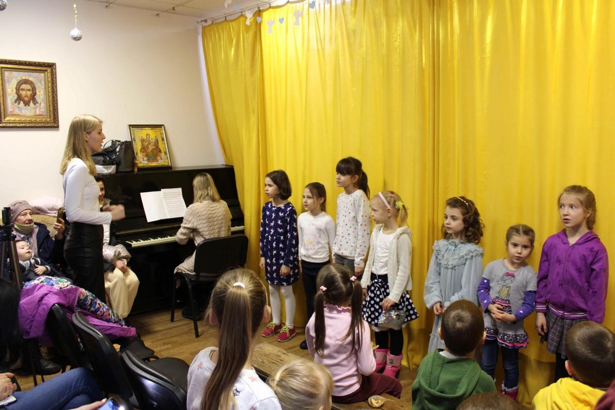 Рождественский праздник в воскресной школе храма