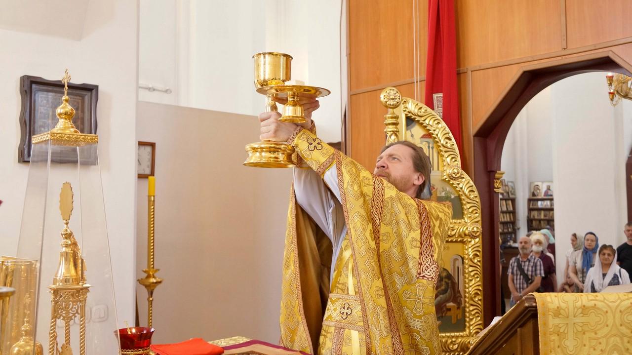 Неделя 1-я по Пятидесятнице